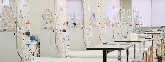 山之内病院の透析室の写真