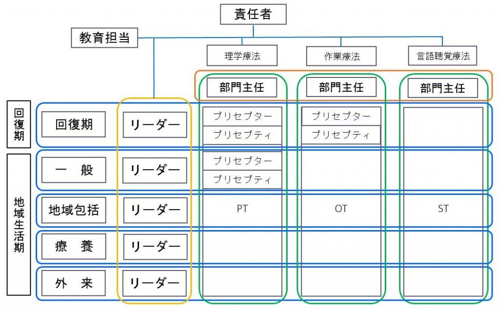 研修制度・チーム制(イメージ)